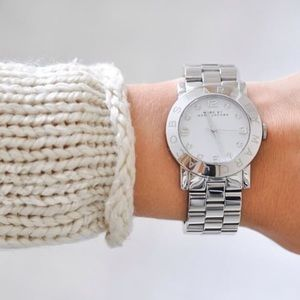 Marc by Marc Jacobs Stainless Steel Crystal Watch
